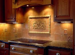 Backsplashes Tuscan Tile Murals Kitchen Inspirations And - Kitchen medallion backsplash