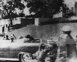 justice warren delivering report on kennedy assassination pictures