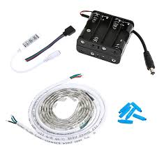 Led Strip Lights Battery Powered Top Battery Operated Flexible Led Light Strips Ideas Home