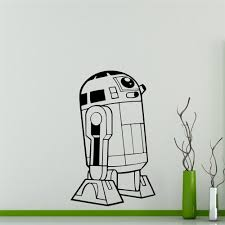 popular custom wall decals buy cheap lots from wall decal star wars universe vinyl sticker robot home decor interior removable custom