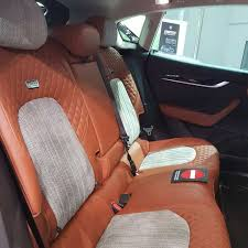 maserati levante back seat maserati levante by startech brabus with interiors made by