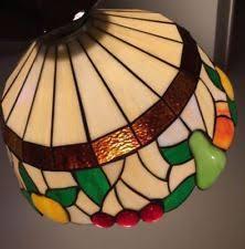 Glass Fruit Chandelier by Tiffany Fruit Lamp Ebay