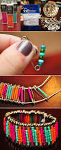 16 easy diy bracelet tutorials safety pins safety and beads