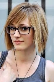 short hairstyles with glasses and bangs 25 elegant and charming short layered haircuts