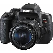 black friday point and shoot camera deals canon eos rebel t6i dslr camera with 18 55mm lens walmart com
