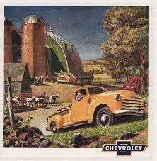 Vintage Ford Truck Art - vintage pickup truck ads carla at home