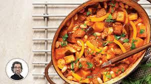 cuisiner espagnol ragoût de bœuf à l espagnole de christian bégin iga recettes
