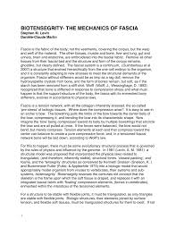 biotensegrity the mechanics of fascia pdf download available