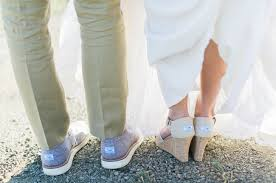 wedding shoes toms pastel saddlerock ranch wedding cady page green