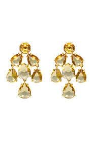chandelier earring chagne kate chandelier earrings by kate spade new york