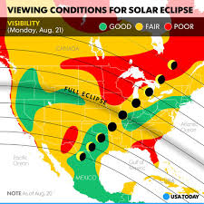 Weather Map Usa by Usa Today Eclipse Weather Forecast Where Will Clouds Facebook