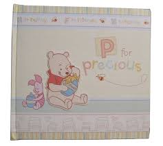 winnie the pooh photo album disney winnie the pooh baby photo album p for
