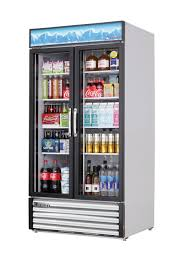 everest commercial 2 glass door refrigerator cooler merchandiser