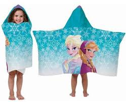 amazon disney frozen hooded towel wrap cape elsa anna
