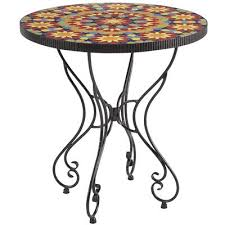 Pier One Bistro Table Pier One Imports Kaleidoscope Bistro Table 28 25 Diameter 30 H