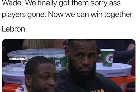 James Meme - lebron james trolling far from over savage af post cavs trade memes
