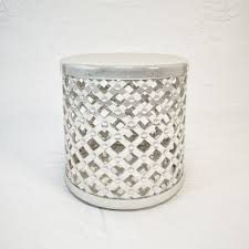 3d marlow drum stool by four hands cgtrader