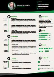 professional resume free download edit fill and print
