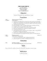 insurance resume samples auto insurance claims adjuster cover letter insurance