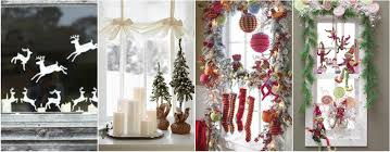 Kitchen Window Decorating Ideas Christmas Kitchen Window Ideas U2013 Day Dreaming And Decor