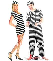 Prisoner Halloween Costume Women Halloween Party Costumes Female Clothes Male Clothes Police