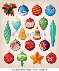retro christmas tree ornaments google search printable stuff