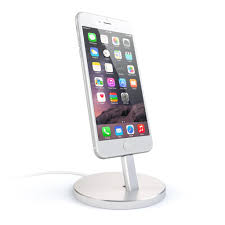 Iphone 5 Desk Stand by Aluminum Lightning Charging Stand U2013 Satechi