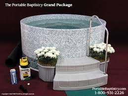 portable baptism portable baptistry anyone using this chris vacher