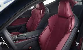 lexus lc 500 interior photos 2018 lexus lc 500h interior seats front gallery photo 34 of 84