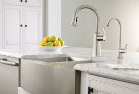 no water in kitchen faucet moen s5520srs sip transitional one handle high arc beverage faucet