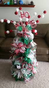 tomato cage deco mesh christmas tree oh oh the holidays pinterest