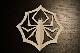 jack skellington u0027s spider paper snowflake paper crafts