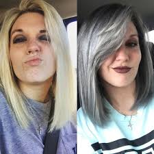 cut before dye hair i dyed my hair grey and here s what happened grey hair