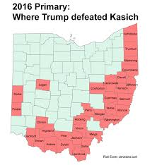Cleveland Ohio Map by New Voter Registration Lags In Key Donald Trump Areas Of Ohio