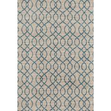Modern Trellis Rug World Rug Gallery Modern Trellis High Quality Soft Blue 5 Ft 3 In