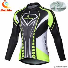 winter road cycling jacket online shop 2016 malciklo men trekking winter fleece thermal long