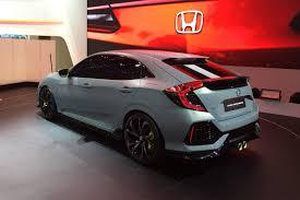 new honda sports car new 2017 honda civic prototype unveiled in geneva by car magazine