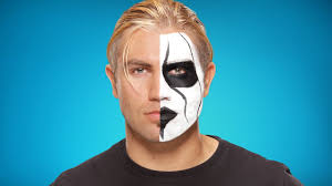 tyler breeze transforms into sting wwe halloween makeup tutorial