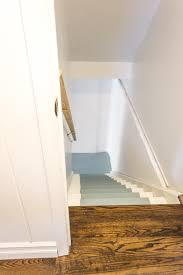 Painting Basement Floor Ideas by How To Paint Basement Stairs The Weathered Fox