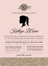 sweet sixteen pink blue cupcakes birthday invitation design sweet