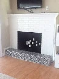 Black Paint For Fireplace Interior Fireplace Dilemma To Paint Or Not To Paint