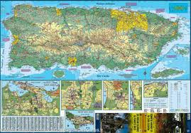 Map Of Virgin Islands Map Of Puerto Rico U0026 Us Virgin Islands Itm U2013 Mapscompany