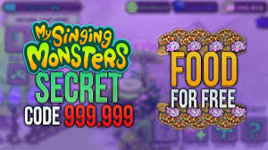 my singing monsters hacked apk my singing monsters new secret code 999 999 food with proof