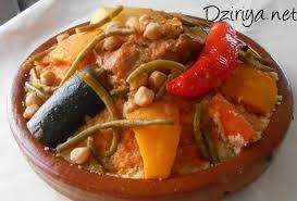 recette cuisine kabyle couscous kabyle aux légumes et au piment avec sauce dziriya