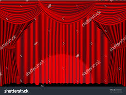 red stage curtains spotlight stock vector 50888728 shutterstock