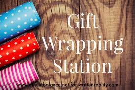 present wrapping station gift wrapping station written reality