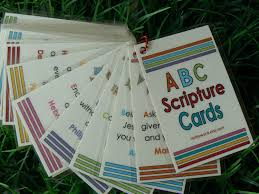 scripture gifts abc scripture cards bible memory verses christian gift
