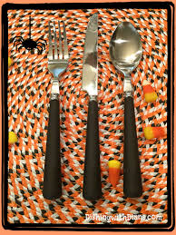 halloween placemat happy halloween dishing with diane