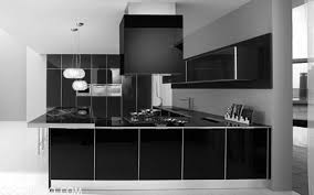 black and white kitchen ideas black and white modern kitchen design with cabinetry ideas