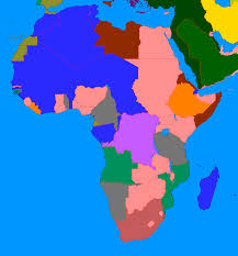 Africa Blank Map by The New Our Timeline Maps Thread Page 87 Alternate History